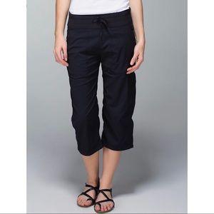 Lululemon Dance Studio Black Cropped Pants Sz 12
